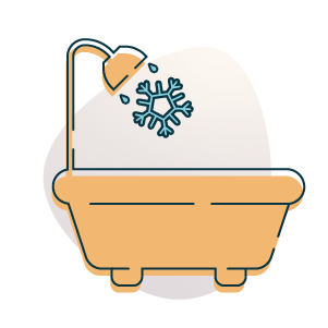 no hot water icon